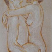 Skizze 4 Jungbrunnen ca. 30 x 20 cm, später ausgeschnitten