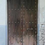 andalusische Tür 2, Öl a. Leiwand, 70 x 100 cm