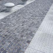 Pflaster und Poller in Helsingør