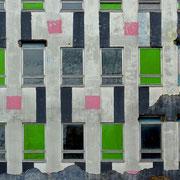 Düsseldorf | Bemalung des ehemaligen DAA-Hauses, mittlerweile abgerissen