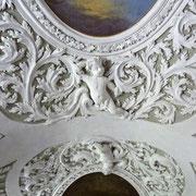 Mattsee | Stuckdecke der Stiftskirche
