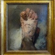 Adolf Menzel | Der Fuß des Künstlers | 1876