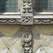 Normadie   Caen   Fassade aus dem 15. Jh.