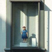 Iphofen | Kleine Frauenfigur im Schaufenster