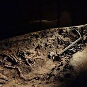 Dänemark | Ladby | Wikingermuseum | Totenschiff