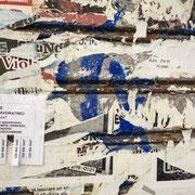 Neapel | abgerissene Plakatierung