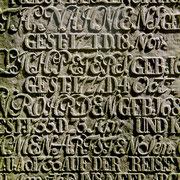 Grabstein auf Föhr