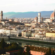 Vistes des del Mirador de Michelangelo