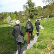 Besichtigung Siedlung Kraftwerk Heizenholz