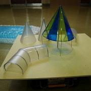 「光の洞窟」の模型です。