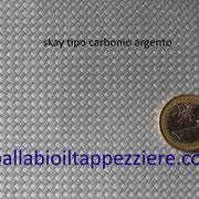 skay nera antiscivolo tipo carbonio argento per selle moto-scooter-maxiscooter. By ballabioiltappezziere.com