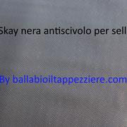 skay nero antiscivolo per selle moto-scooter-maxiscooter. By ballabioiltappezziere.com
