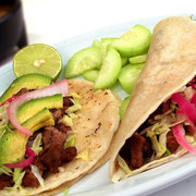 Tacos aus Mexiko