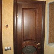Фото 1.4. Установка межкомнатной двери (общий план).