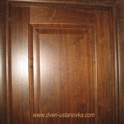 Фото 1.7. Чистота соединений элементов при установке межкомнатной двери.