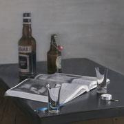 Montagabend beim Schmidt (80x80)