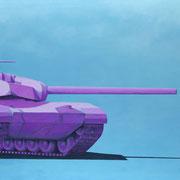 Der kleine Vogel der dem Panzer ins Getriebe kackte (100x160)