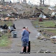 Торнадо в Алабаме, США