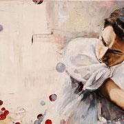 Kontrapunkt, 2014, Öl auf Leinwand, 50 x 70 cm