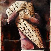 Das Versprechen No.2, 2017, Öl auf Leinwand, 120 x 100 cm