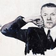 Valentin, 2015, Öl auf Leinwand, 50 x 70 cm