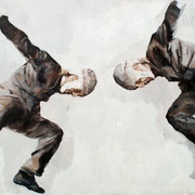 Gedankensprung, 2018, Öl auf Leinwand, 80 x 160cm,*