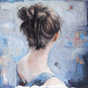 Streiflicht, 2015, Öl auf Leinwand, 40 x 40 cm, *