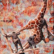 Das Maß der Dinge II, 2013, Öl auf Leinwand, 160 x 130 cm