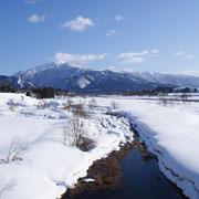 奥越の雪景色(大野市)