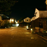蔵の辻の夜景(越前市武生)
