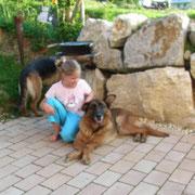 Amely und die elf  jährige Bonni