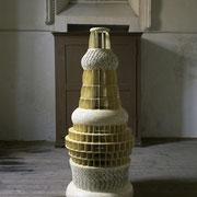 Tourelle, 2008, H: 167 cm / Durchmesser: 70 cm, Pappe, Leim, Lack