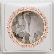o.T. 2013 Tusche, Tortenkarton 20,2 x 20,5 x 7,2 cm