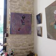 Mehrzad Najand - peintures:  acrylique sur toile -