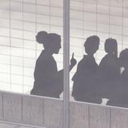 「潮騒はるか」葉室麟・月刊誌扉絵・第3話原画、2016