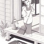 「週刊君曜日」3月7日号掲載・主婦と科学、挿絵 2014