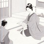 挿絵練習2「藤枝梅安」池波正太郎、2012