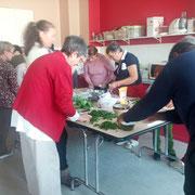 cuisine de plantes sauvages