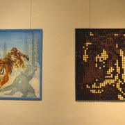 """""""Snow Cat"""" und """"Sweet Cat"""" in der Galerie Carlshöhe"""