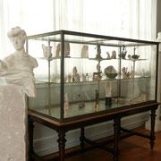 l'atelier d'artiste - lieu d'exposition pour sa collection personnelle d'antiques. Rodin appréciait particulièrement les sculptures de la période romaine.