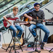Music Secrets Gitarren Duo 2 Live bei der Messe Nürnberg 2016