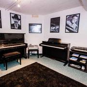 Klavier - Raum Musikschule Music Secrets in Nürnberg