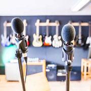 Gesangs Übungsraum Musikschule Music Secrets in Nürnberg