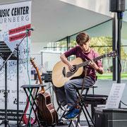 Music Secrets Gitarren Solo 4 Live bei der Messe Nürnberg 2016