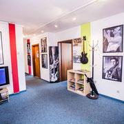 Warteraum Musikschule Music Secrets in Nürnberg