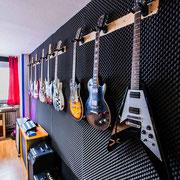 Gitarren der Musikschule Music Secrets in Nürnberg