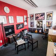 Musikschule Music Secrets in Nürnberg Gitarren Übungsraum