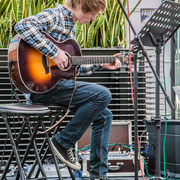 Music Secrets Gitarren Solo 3 Live bei der Messe Nürnberg 2016
