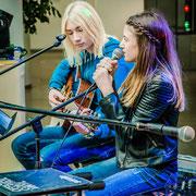 Music Secrets Schüler Gitarren und Gesang Live bei der Messe Nürnberg 2016