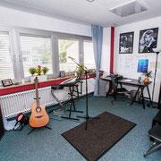 Gitarre Gesangs Raum Musikschule Music Secrets in Nürnberg